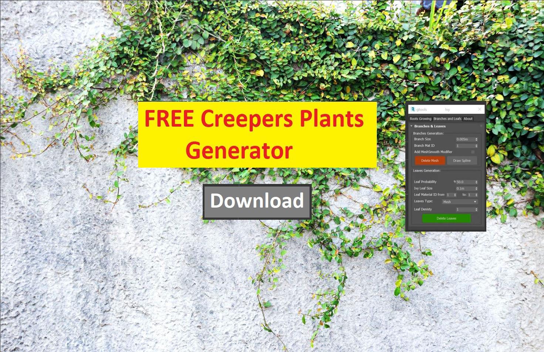Free Creepers Plants Generator
