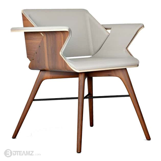 Alexandre Caldas Nest Wings Chair 3d Model